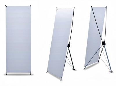 Sunbath Баннерный стенд с Х-образной опорой и сумкой 80х180