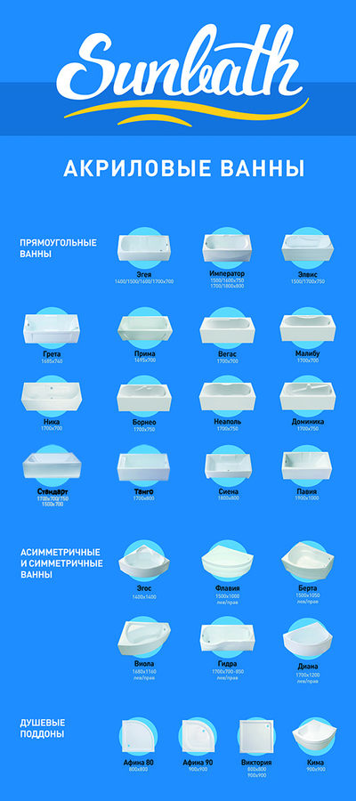 Sunbath Плакат для Х-баннера 80х180  Sunbath